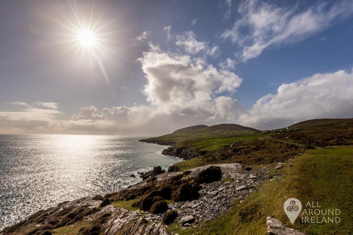 Stunning views from the coast road on Dursey Island