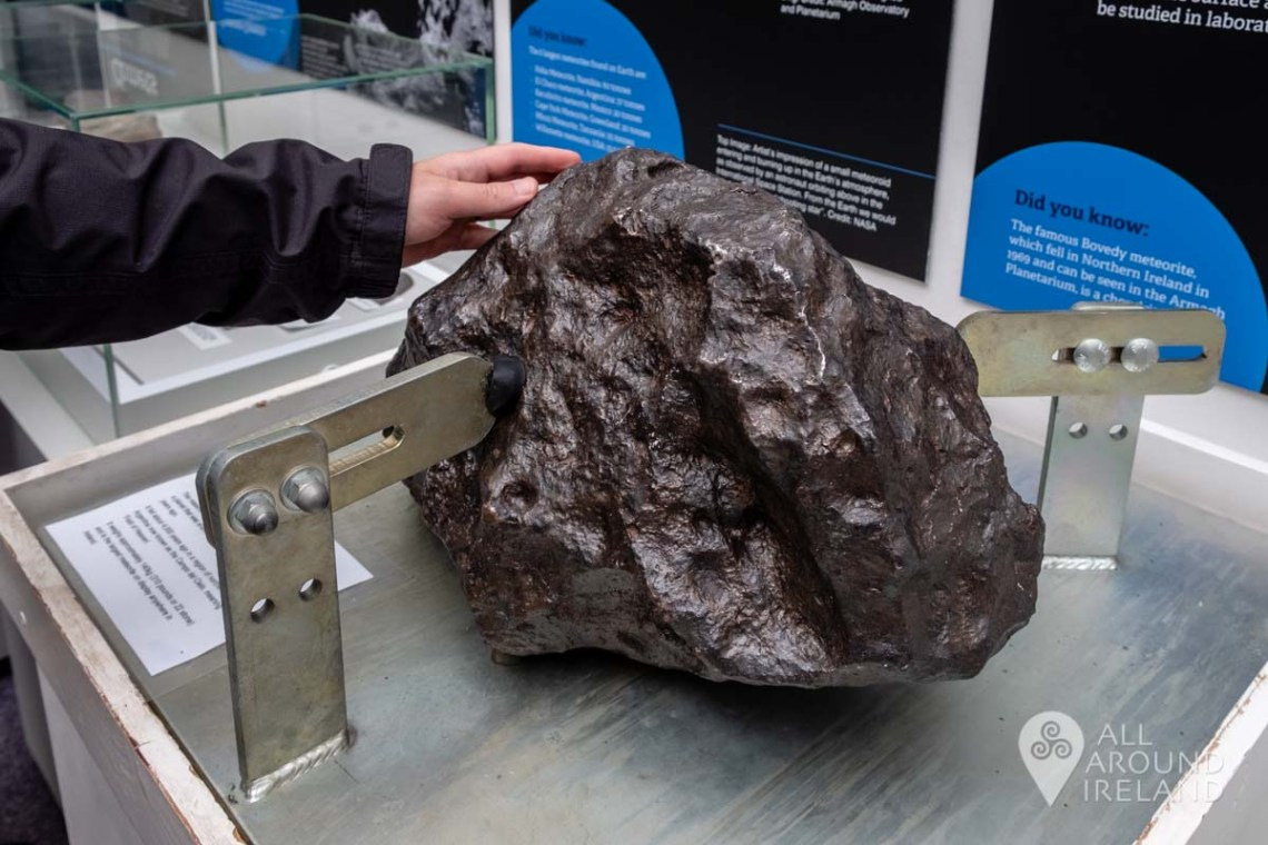 The largest meteorite on display in Ireland is at Armagh Planetarium