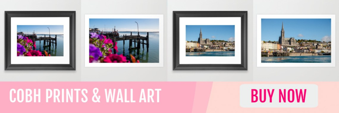 Wall Art & Prints of Cobh for sale