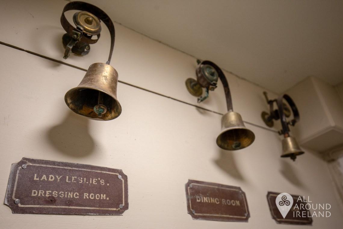 Servant bells at Castle Leslie
