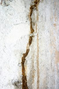 Epoxy injections help fill in wall cracks