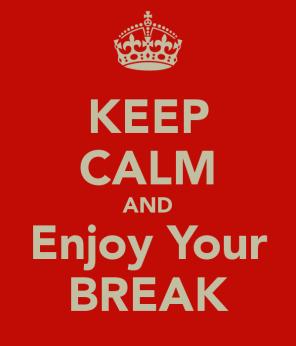 Assignment writing break