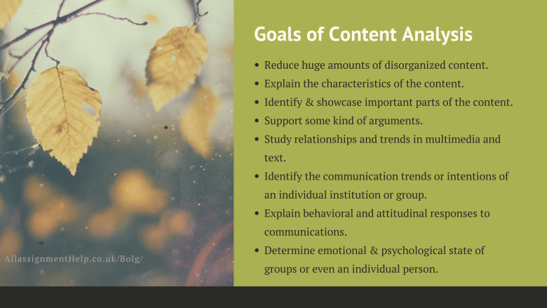 goals-of-content-analysis