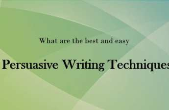Persuasive Writing Techniques