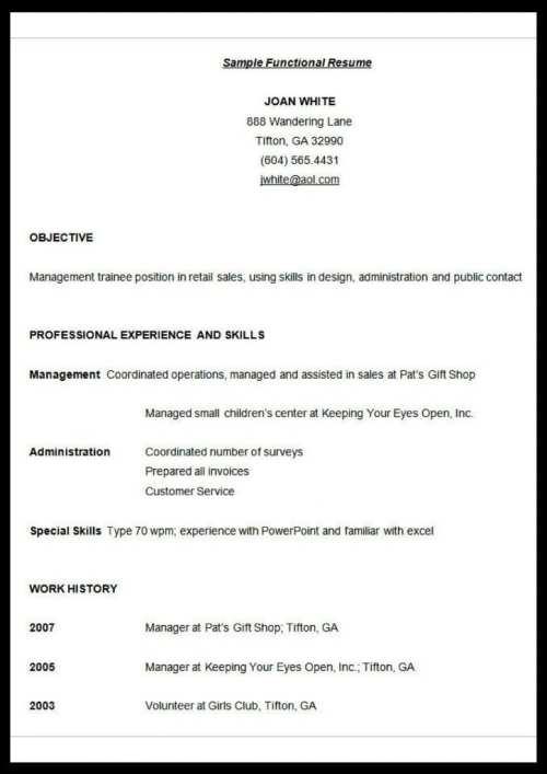 functional-resume-format