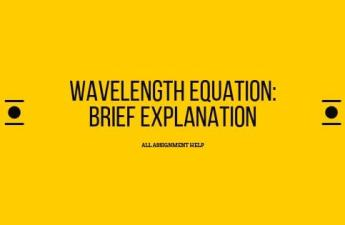Wavelength Equation