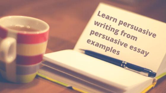 Persuasive essay order of importance