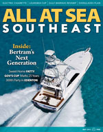 All At Sea - The Southeast's Waterfront Magazine - May 2013