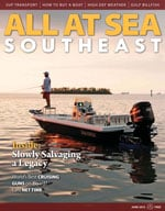 All At Sea - The Southeast's Waterfront Magazine - June 2013