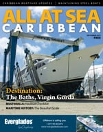 All At Sea - The Caribbean's Waterfront Magazine - September 2015