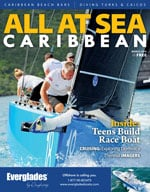 All At Sea - The Caribbean's Waterfront Magazine - March 2016