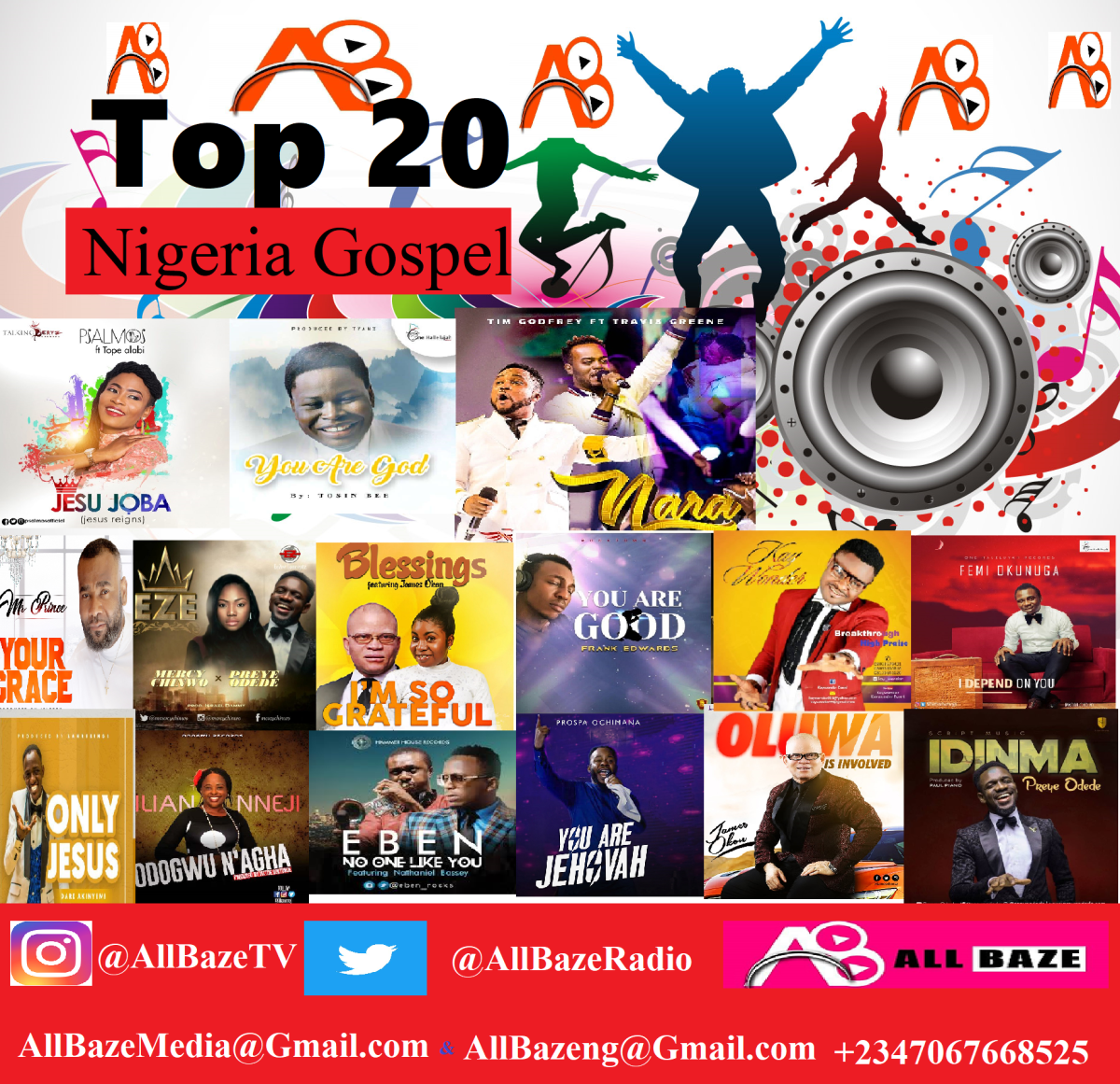 Top 20 Nigerian Gospel Songs 2018 [ Latest Gospel Songs 2018 ]