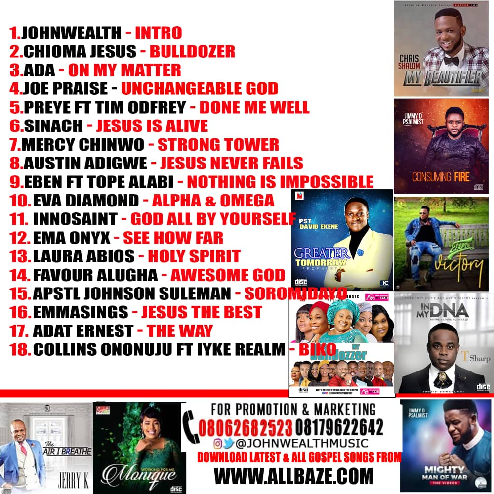 Bulldozzer  Gospel Mixtape – Johnwealth Music