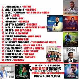 Johnwealth Music , Obi Uto,Gospel Mixtape,Gospel Mixtape Obi Uto