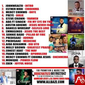 ,Latest Gospel Mixtape ,Chidinma