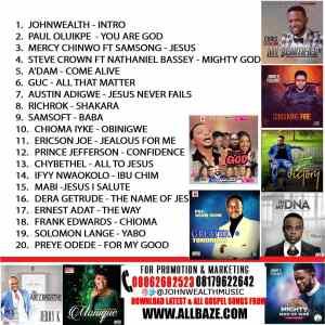 Gospel Mixtape,You Are God,Johnwealth Music