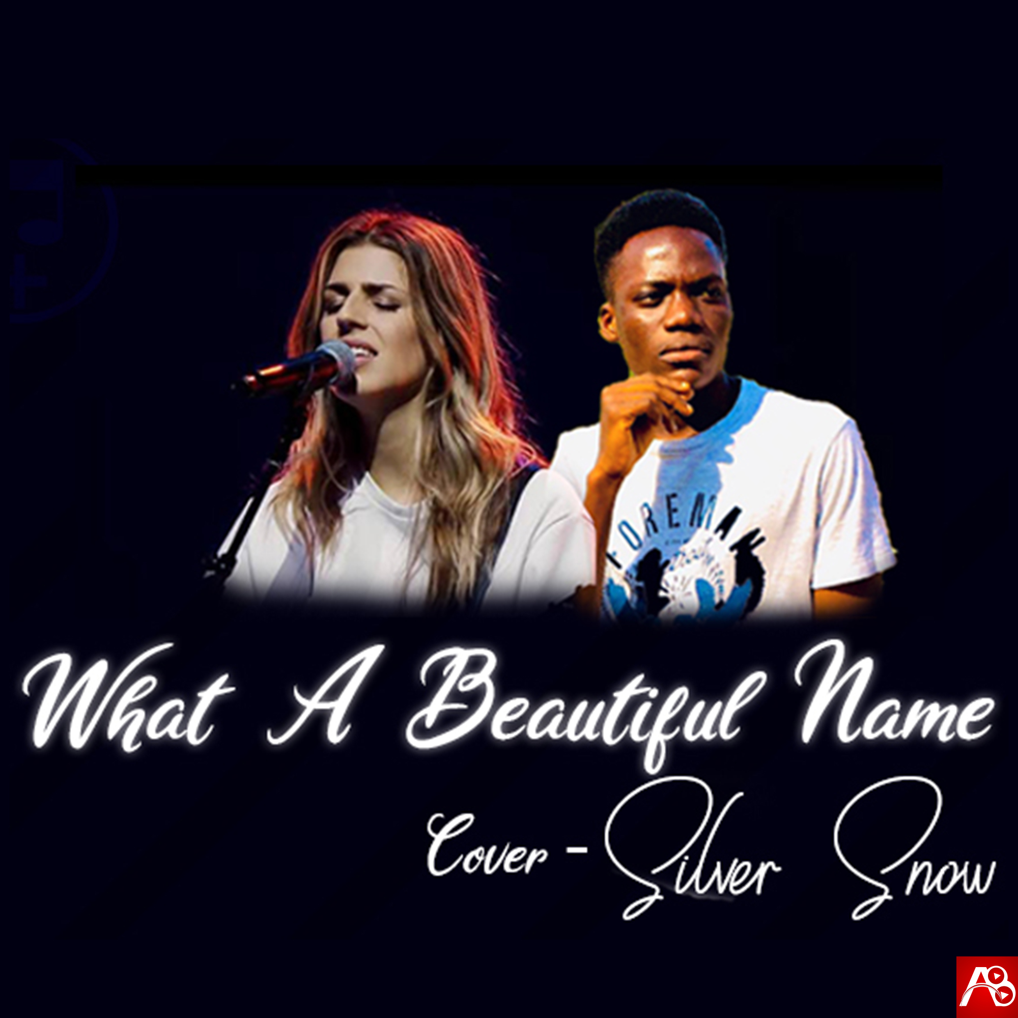 Silver Snow Rap cover of What a Beautiful name