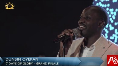 Dunsin Oyekan Powerful Ministration During BTE Grand Finale Rccg Champions Cathedral