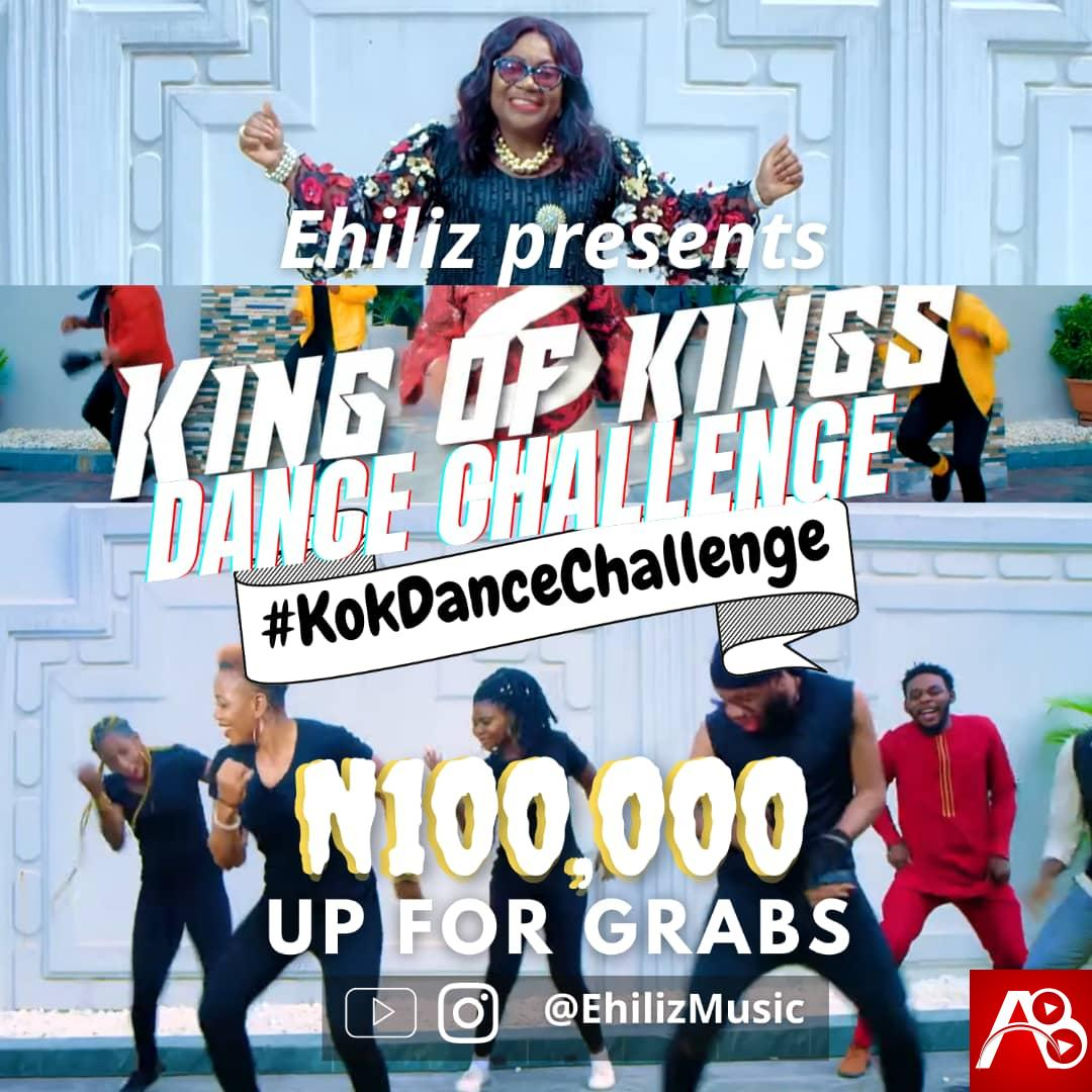Enter The King Of Kings Dance Challenge with Ehiliz & Win Prizes Worth N100,000