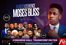 "Moses Bliss Preps for first major concert ""The Bliss Experience"" live in Abuja 