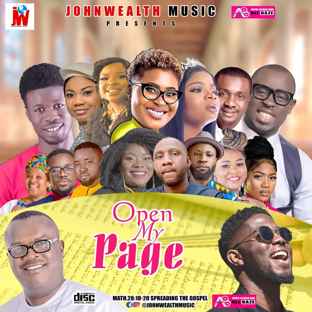 Open My Page Gospel Mixtape