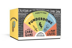 Review - a card game in which you make puns. Worst pun wins!