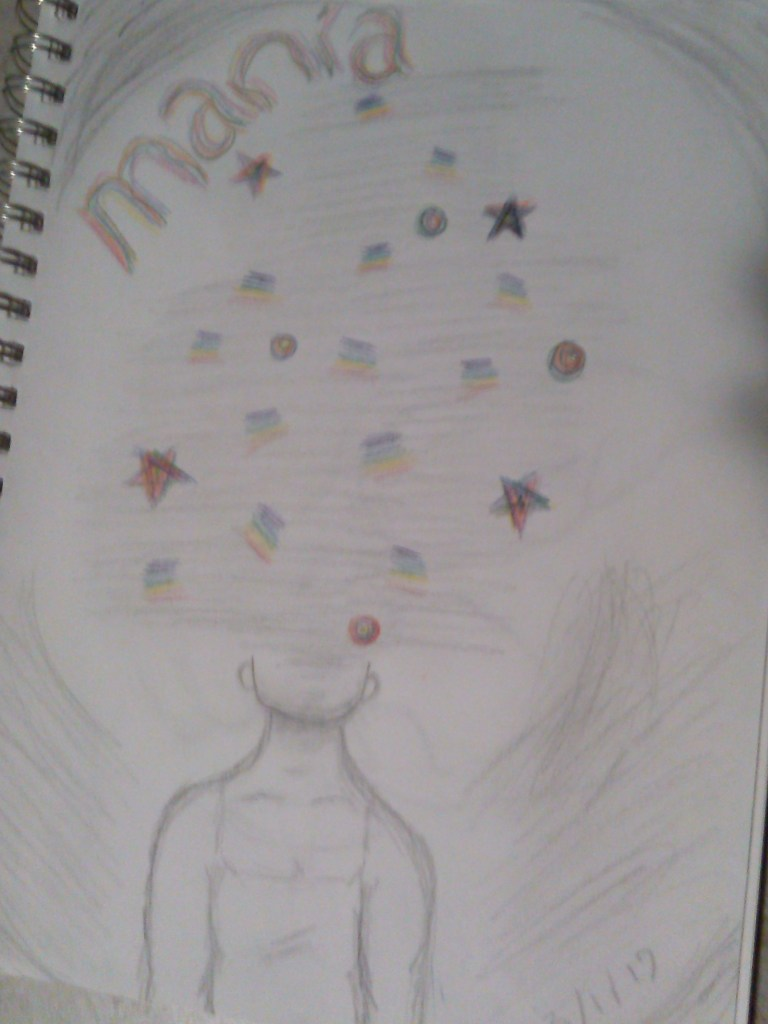 Nighttime Mania, the kaleidoscope I saw in the darkened room.