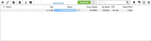 EZTV Download Speed