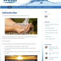 HealthBenefitsofWater.com