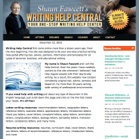 writing - responsive website design