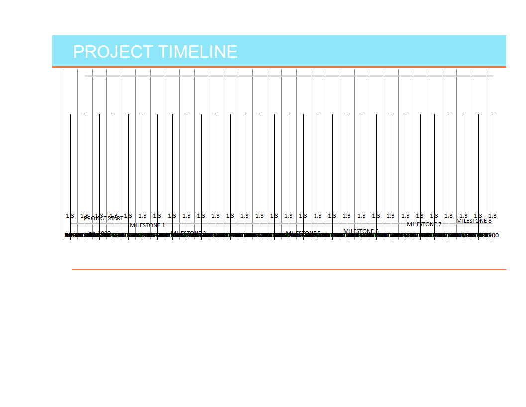 Timeline Worksheet Template