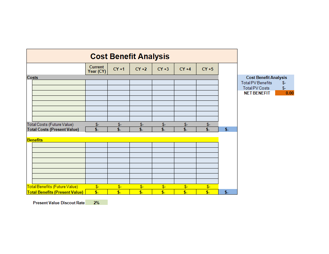 Sample Excel Templates Excel Cost Breakdown Template