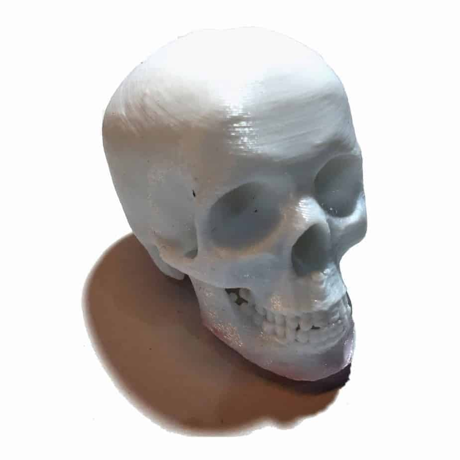 spooky mini human skull geocache nano tube container ready to hide, Skeleton