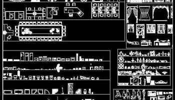 Home Interior Design CAD Collection | Free Autocad Blocks ...