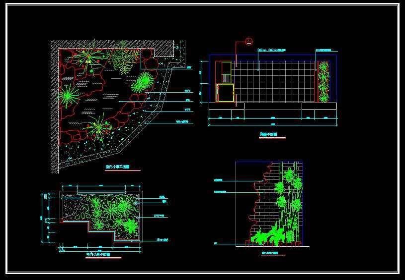 Landscape design free cad blocks drawings download for Online autocad drawing