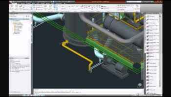AutoCAD Plant 3D Manifold Pipe Routing – Free Autocad Blocks