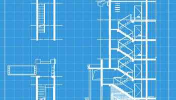 Free Stair Elevation Cad – Free Autocad Blocks & Drawings Download