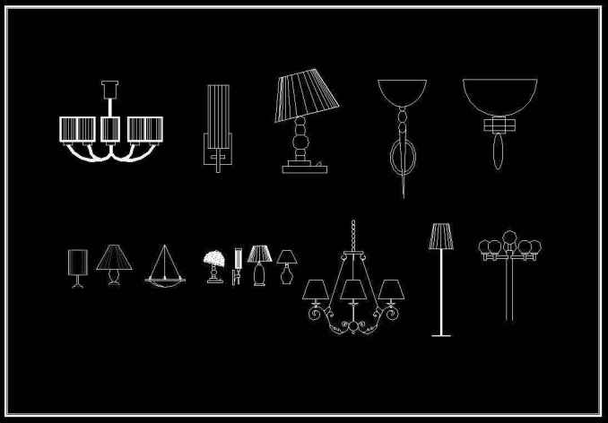 Free Lamp Blocks Download