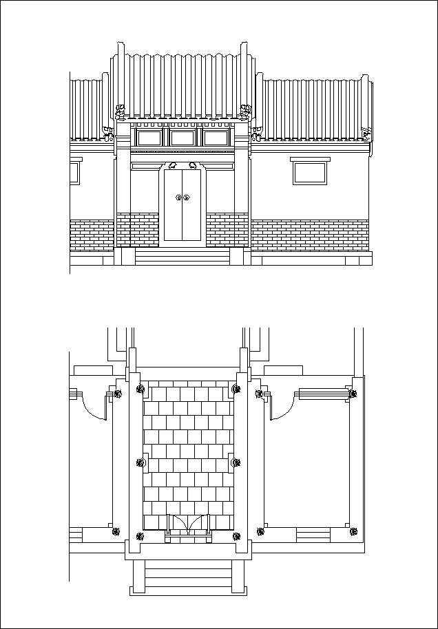Chinese Architecture Drawings