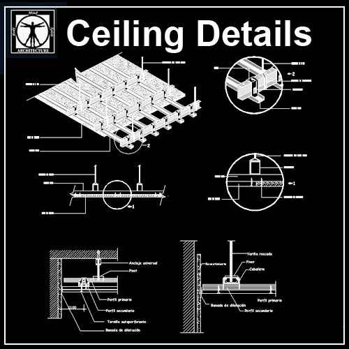 Free Ceiling Details 1 - Free Autocad Blocks & Drawings ...