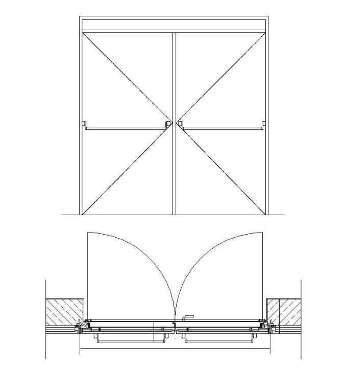 Free Fire Proof Door Details – Free Autocad Blocks