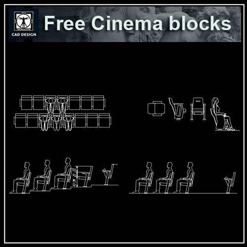 office chairs autocad blocks free download