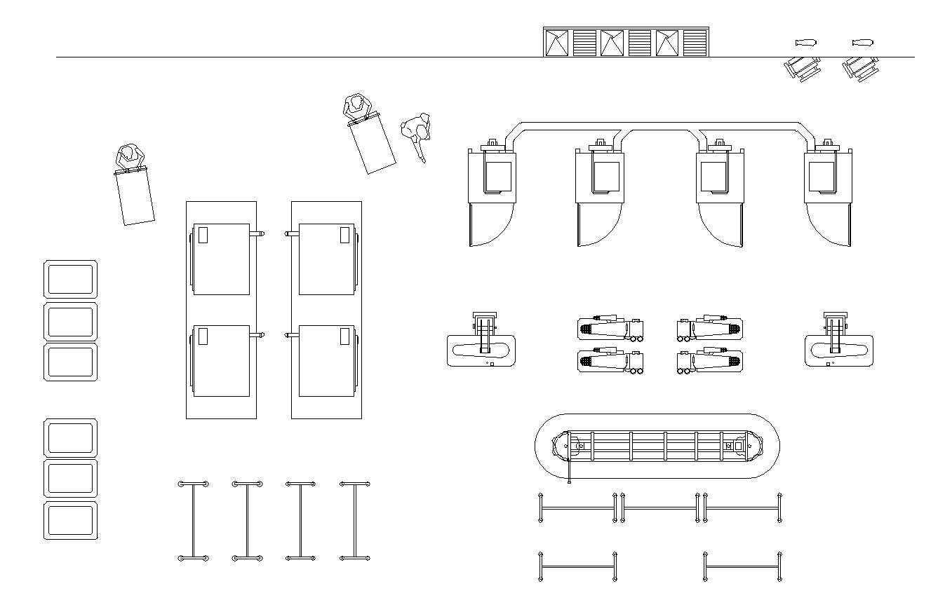 Laundry Plan Design Free Autocad Blocks Amp Drawings