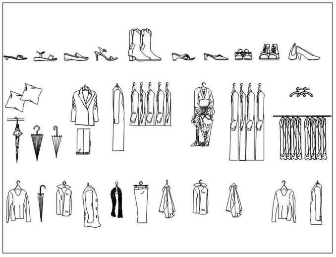 Free Appliances blocks-clothes – Free Autocad Blocks