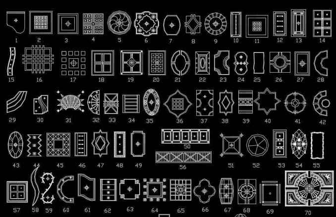500 Types Of Ceiling Design CAD Blocks Free Cad Blocks