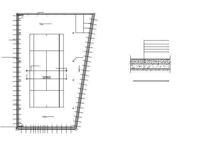 ★【Stadium CAD Blocks-Stadium,Gymnasium, track and field, playground, Sports  hall V 2】@basketball court, tennis court, badminton court, long