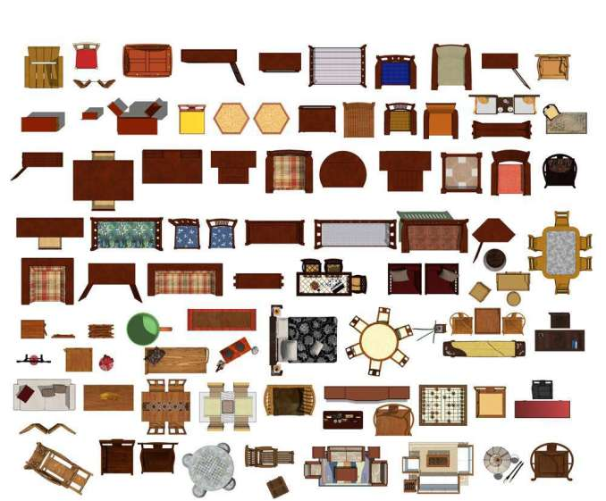 Over 20000 Interior Design Photoshop Psd Blocks Bundle Total 2 2