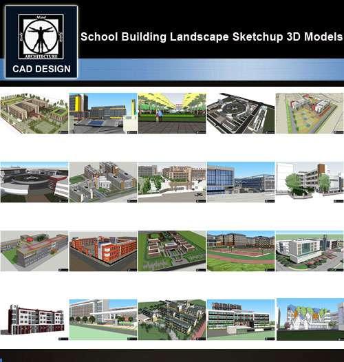 Sofa Modeling In 3ds Max Free Download  a a sketchup 3d modelsa 20 types of school sketchup 3d models v 3