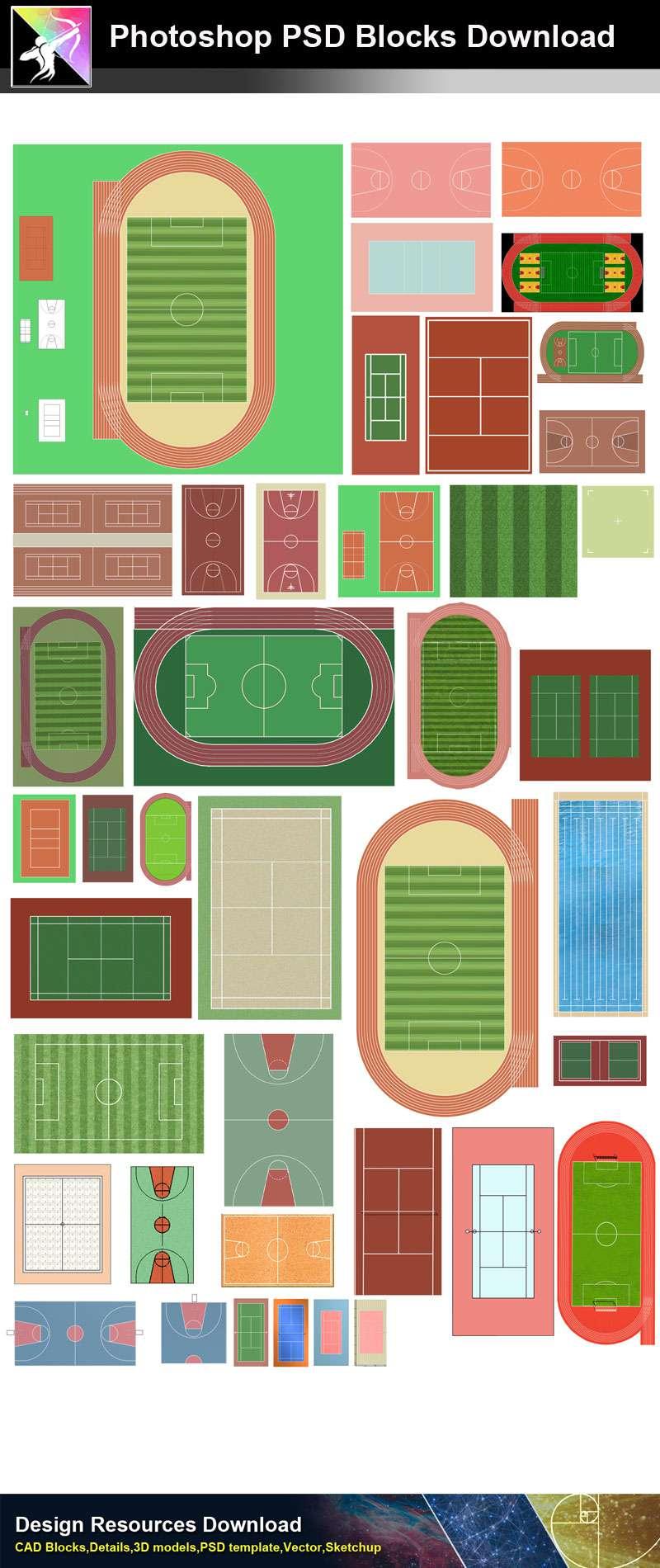 basketball court psd ★【psd landscape layout design blocks 】playground, gymnasium, basketball  court psd landscape blocks