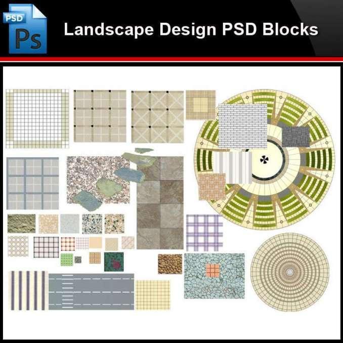 Photoshop Psd Blocks Landscape 2d Paving Design Psd Blocks,Simple Modular Kitchen Designs With Price